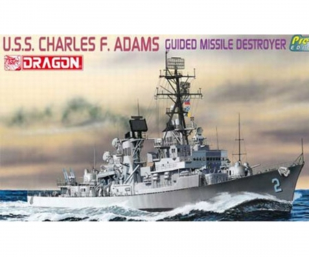 carson 1:700 Guided Missile Destroyer (Premium)