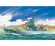 1:700 USS Long Beach CGN 9