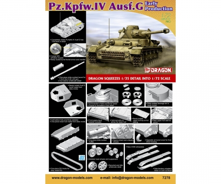 1:72 Pz.Kpfw.IV Ausf.G Early Production