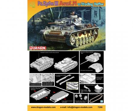 1:72 Pz.KPFW.III Ausf.M w/wading muffler
