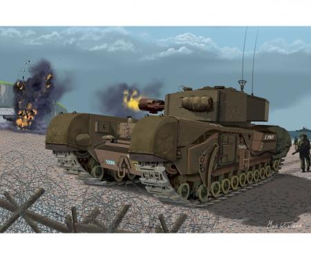 1:72 Churchill Mk.III AVRE