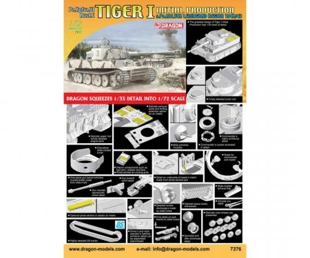 1:72 Tiger I Init-Prod. Leningr. 1942/43