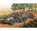 carson 1:72 WWII Ger.Truck Krupp Protze w/PaK