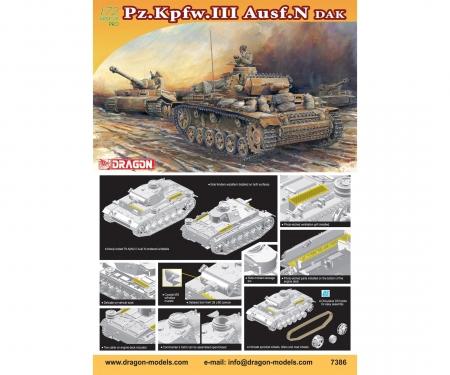 carson 1:72 Pz.Kpfw. III Ausf. N DAK