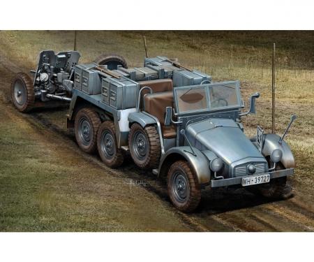 carson 1:72 Kfz.69 6x4 Truck & 3,7cm Pak 35/36