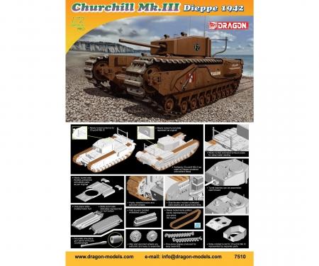 1:72 Churchill Mk. III, Dieppe 1942