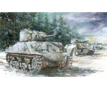 1:72 Sherman M4A3 (105mm) VVSS