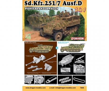 1:72 Sd.Kfz.251 Ausf.D PionierPzKpfw