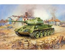 1:35 WWII Soviet Tank T-34/85
