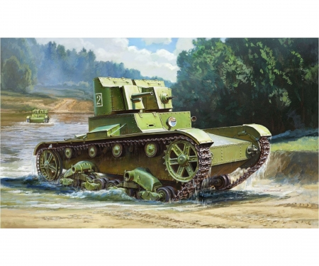 1:35 T-26 mod'32 Light Sov.infantry tank
