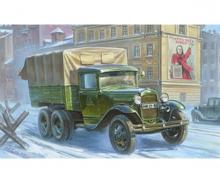 1:35 WWII GAZ-AAA Soviet Truck