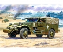carson 1:35 WWII M3 Scout Car w/ Canvas Cover