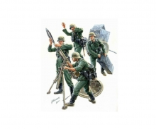 1:35 WWII Fig.-Set Ger.Mortar Crew (4)42