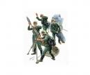 1:35 WWII Fig.-Set Ger.Mortar Crew (4)42