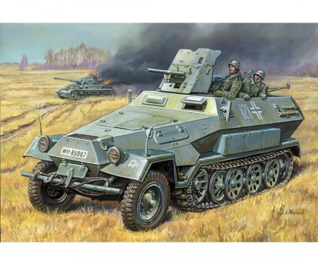 1:35 WWII Ger. Sd.Kfz.251/10 Half Track