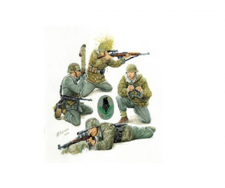 carson 1:35 WWII Fig.-Set German Snipers (4)