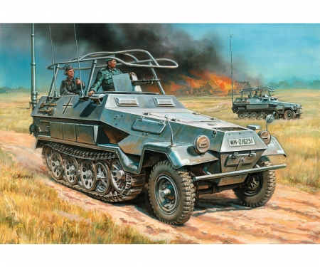 1:35 WWII Sd.Kfz.251/3Ausf.B Fernmel. WA