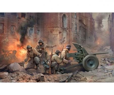 carson 1:35 WWII Ger. PAK 36 w/ Crew