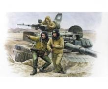 1:35 Mod. Fig-Set Rus. Tank Crew (3)