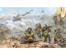 1:35 Mod. Fig-Set Rus. Air Cavalry (6)