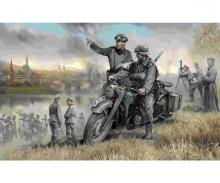 carson 1:35 WWII Ger.Krad R12 w/ Crew (2)