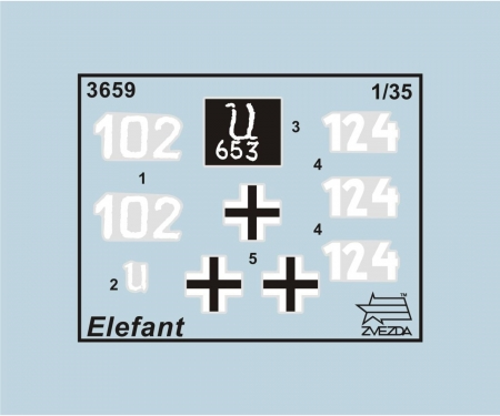 carson 1/35 Elefant Sd.Kfz. 184