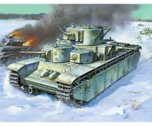 carson 1:35 T-35 Heavy Soviet Tank