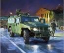 1:35 GAZ-Tiger Rus.Infant. Mobil.Vehicle