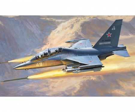 1:48 YAK-130 Russian trainer / fighter