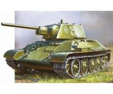 carson 1:72 WWII Sov. MBT T34/76 Click-Kit