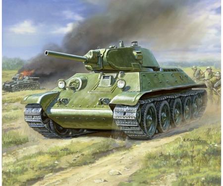 1:100 WWII T34/76 tank