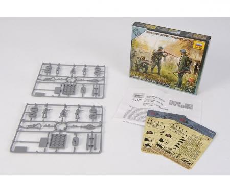 1:72 WWII Figure-Set Ger. Infantry (10)