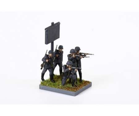 carson 1:72 WWII Figure-Set Ger. Infantry (10)