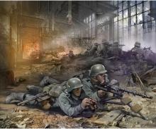 1:72 WWII Fig.-Set Ger.Mach.gun-Crew (4)