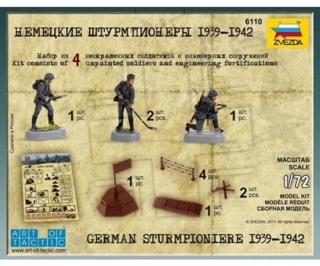 carson 1:72 WWII German Sturmpioniere