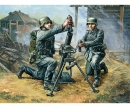 carson 1:72 WWII Ger. 81 mm Mortar w/ Crew