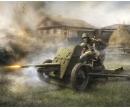 1:72 WWII Sovjet 45mm Geschütz
