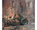carson 1:72 WWII German Gun Pak-36 w/Crew