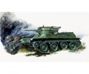 1:100 WWII Soviet BT-5 Tank