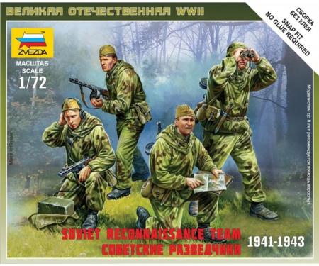 carson 1:72 WWII Soviet Reconnaissance Team