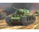 1:100 WWII Sovjet Panzer KV-1