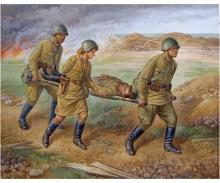 1:72 Soviet Medical Personnel 1941-42