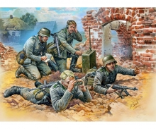 1:72 WWII German Reconnaiss. Team