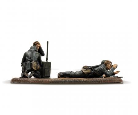 carson 1:72 WWII German Reconnaiss. Team