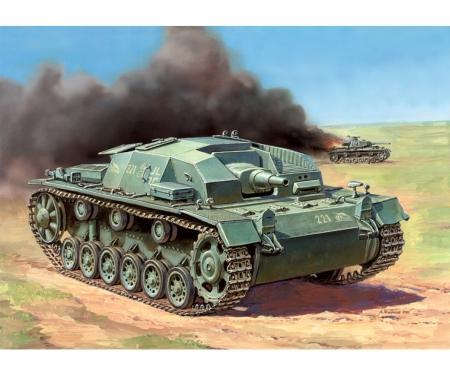 1:100 Assault gun III layout B