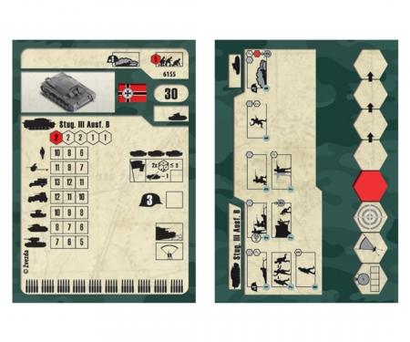 carson 1:100 Assault gun III layout B