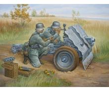 carson 1:72 WWII German 75-mm Infantry Gun