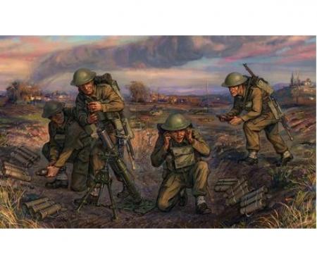 1:72 British Mortar w/crew 1939-42