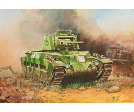 "carson 1:100 British Tank  ""Matilda II"""