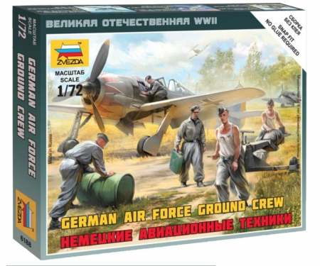 carson 1:72 German airforce ground crew